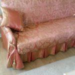 Чехол на диван, съемный из жаккардовой ткани