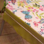 подушка на кухонный стул, съемная